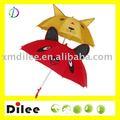 el diseño del oído amarillo paraguas niños imagen