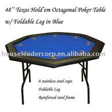 48'' Octagon Poker Table