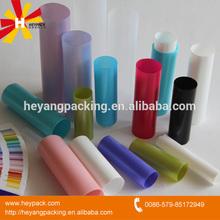 various empty tube plastic packaging