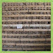 Decoración del jardín de bambú