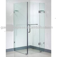 Clear Tempered Glass Shower Room