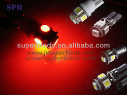 2013 hot sale Canbus W5W/T10 5050 5SMD for 12V/24V auto parts