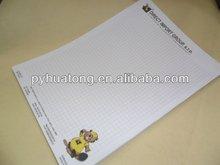 A4 doublé papier à lettres / lettre pad / tête de lettre