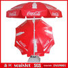 280g PVC fabric beach umbrella, cola promotional beach umbrella,beach umbrella promotional