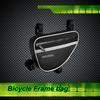 waterproof reflective strip five velcro bicycle down tube bag