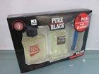 PURE BLACK New design pure black perfume gift set for men