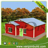 Energy saving economic easy assembly slope roof steel prefab house