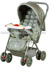baby stroller/toy stroller item 2009=160#+dark blue with music tray