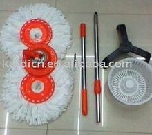 steel material no bucket spin mop