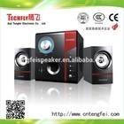 USB+SD+FM 2.1 Wooden Multimedia Speaker/ 2.1 computer subwoofer speaker-TF-823