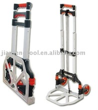 aluminum foldable Hand trolly, hand cart, 2 wheels foldable hand truck