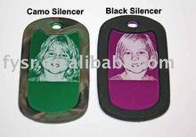 silicon dog tag silencer silicon pet tag silencer