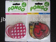 2015 new product no moq factory direct retailig vanilla car air freshener
