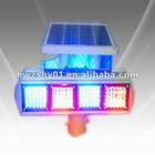 Solar traffic caution light