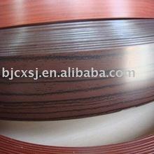 good quality wood grain 2*22mm pvc edge banding for sofa