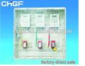 quadro de distribuição elétrica com switches
