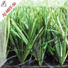decorative artificial grass in planters
