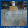 CE tempered curved glass for furniture glass form furniture