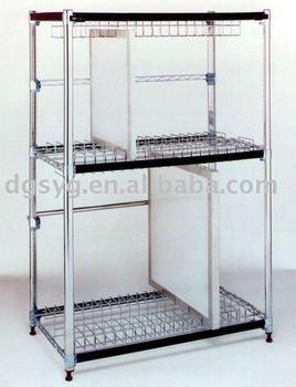 SMT Stencil Storage Shelf