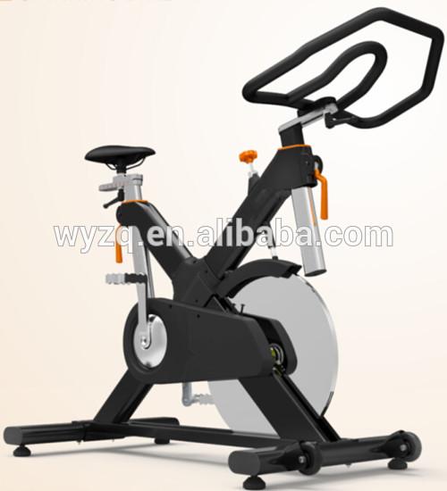 Magnetic exercise bike/18 kgs heavy flywheel racing indoor cycle trainer exercise bike BY-E92M