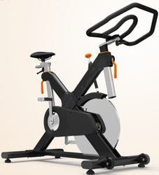 Magnetic exercise bike/18 kgs heavy flywheel racing indoor cycle trainer exercise bike BY-E92M