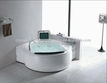 whirlpool bathtub with TV massage bathtub K8181 spa tub