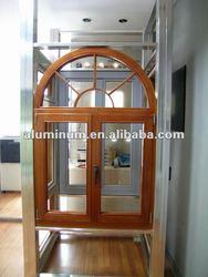 wood-aluminium window