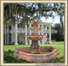Garden stone fountain factory