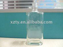 Pequeña botellas de licor / apartamento botella de licor / cuadrado botella de licor
