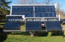 Pressurized Vacuum Tube Solar Collector / Evacuated Solar Collector