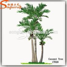 artificial coconut palm tree om whole sale, decorative coconut tree in stock