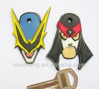 new design custom made soft pvc rubber laptop key cover