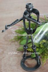 New product metal craft decorative metal music figurines