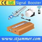 Wireless signal enhancer mileage booster, uhf signal booster for GSM 900mhz repeater