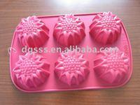 Flower Shape Cake Bakeware--Silicone molds