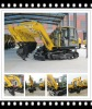 new hydraulic excavator r for sale 7tons with low price, heavy construction machinery