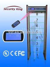 The most popular 8zone Door Frame Security Metal Detector XST-F08