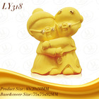 LY318 3D golden art craft of chinese traditional gift