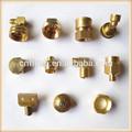 quente de bronze peças de usinagem cnc