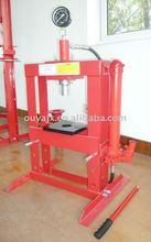 10ton hydraulic shop &workshop press have CE