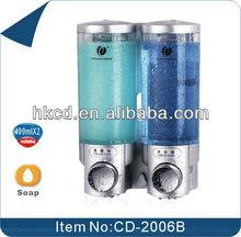 400ML Double manual bathroom soap dispenser