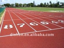 professional polyurethane sport running track