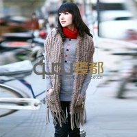QD11558 Rabbit Fur Vest Wholesale/Retail Sale Vest Rabbit Fur Vest For Women