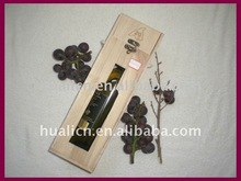 Good quality Pine wooden wine box case for sale