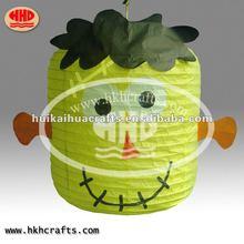 Popular Halloween paper lantern/new design craft for halloween