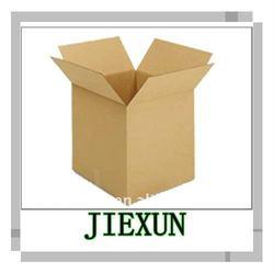 Three layers corrugated carton box
