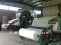 de alta calidad 1760mm de tejido que hace la máquina de papel reciclado