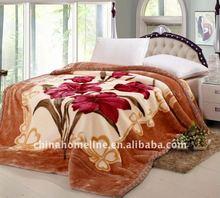 100% Acrylic Raschel Blanket