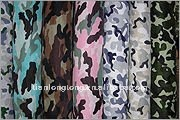 polyester/cotton camoflage fabric for bag