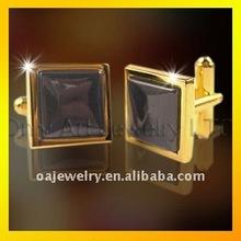 nickle free hot selling 2012 fashion cuff links/blank brass cufflinks